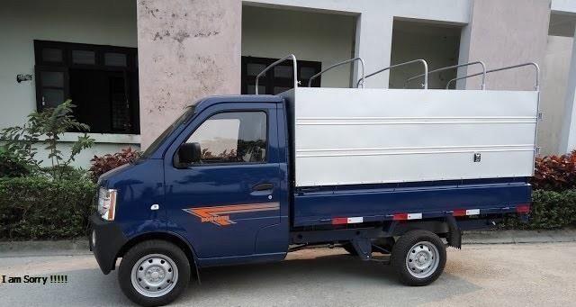 Xe tải dongbXe tải dongben 870kg thùng bạten 770kg thùng bạt