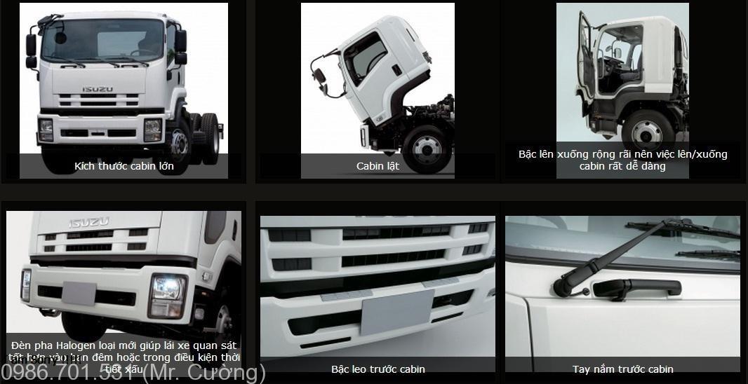 xe tải isuzu 6.2 tấn FRR90N