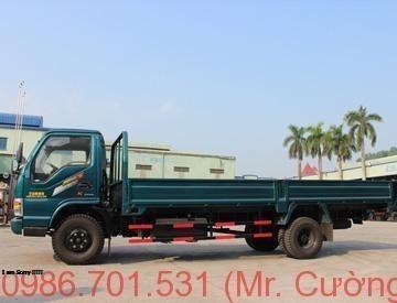 Xe tải chiến thắng 4.95 tấn thùng lửng (CT4.95T1)