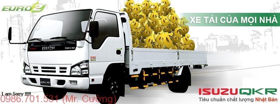 Xe tải Isuzu 1.4 tấn QKR55F
