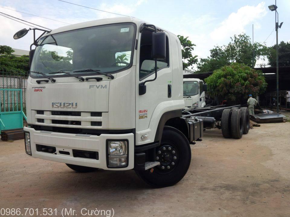 xe tải isuzu 3 chân 15 tấn FVM34W