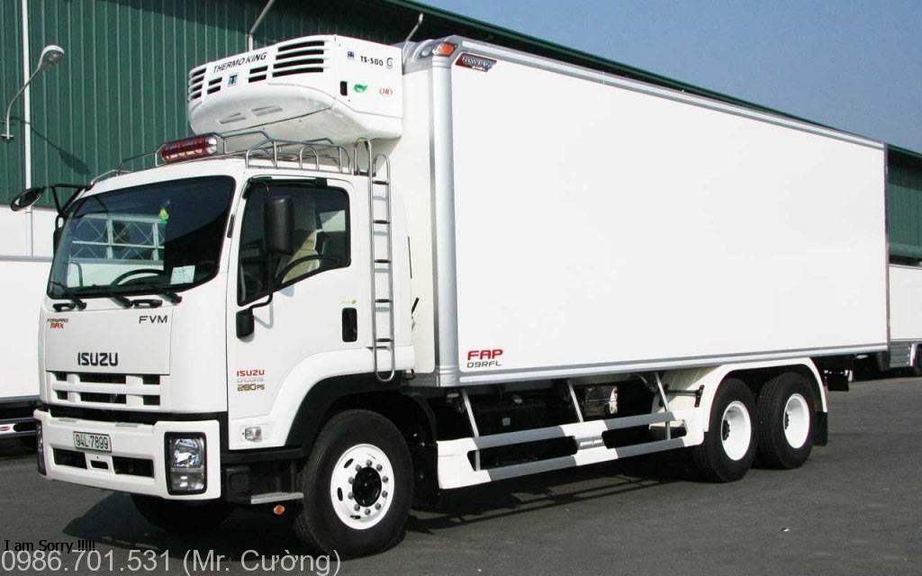 xe tải isuzu 3 chân 15 tấn