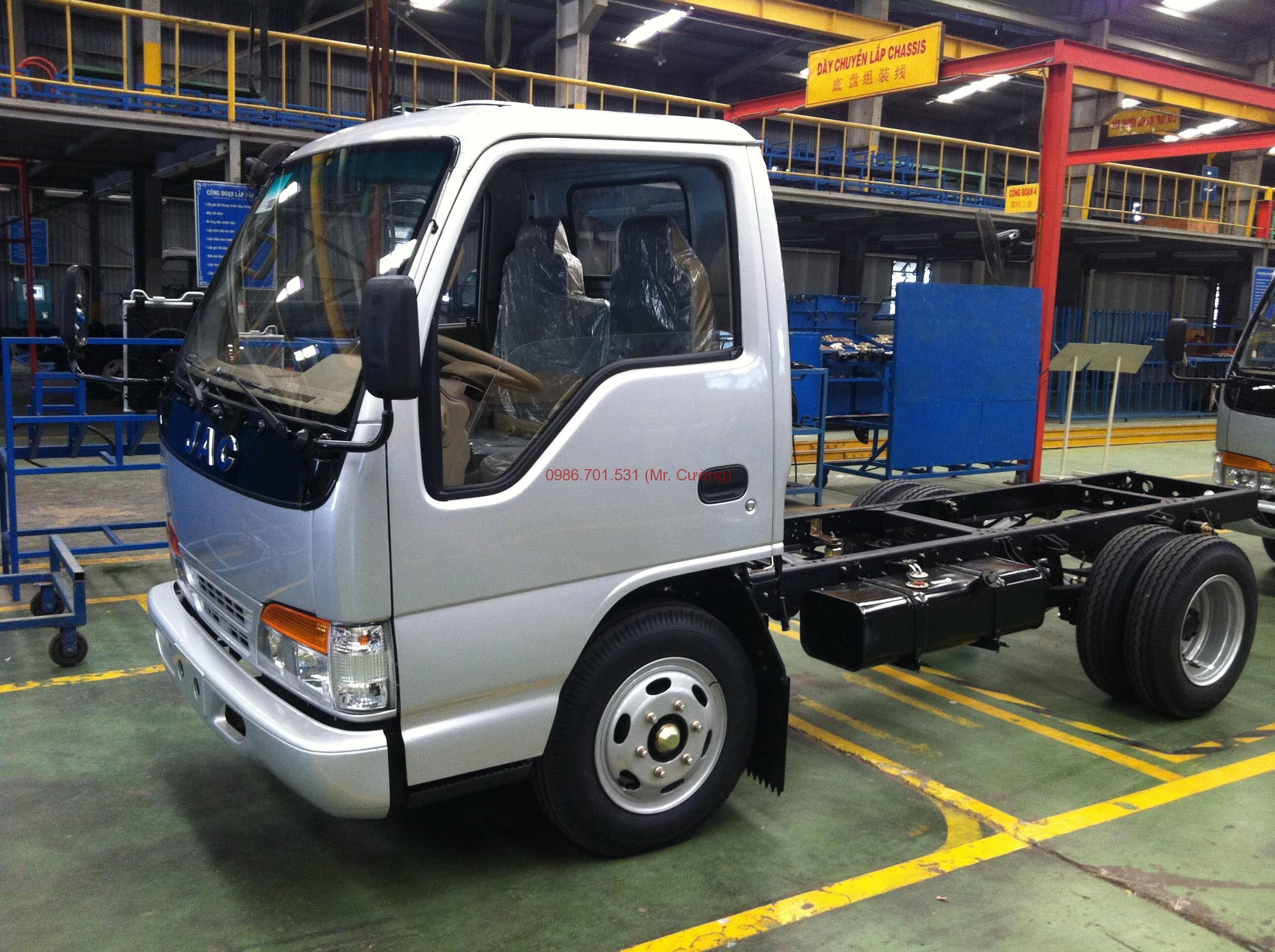 Xe tải jac 1.4 tấn khuyến mãi 100% phí trước bạ
