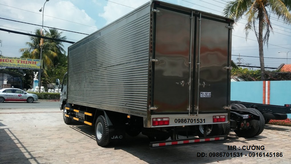 xe tải jac 6.4 tấn