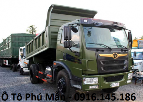 Xe ben DongFeng Trường Giang 8.5 tấn