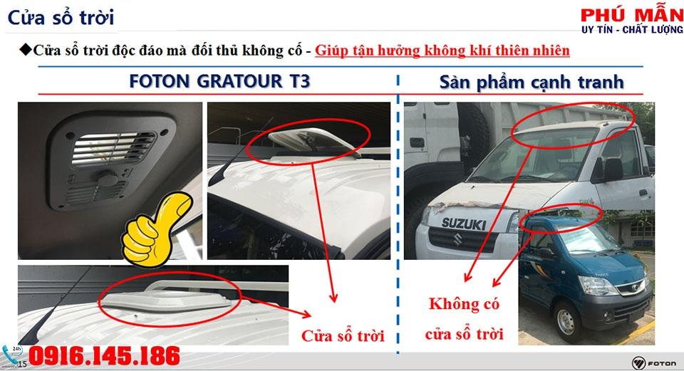 XE TẢI FOTON 990 KG