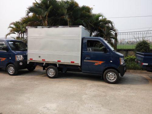 Xe tải dongben 870kg thùng bạt