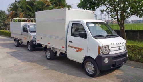 xe tải dongben 790kg thùng kín
