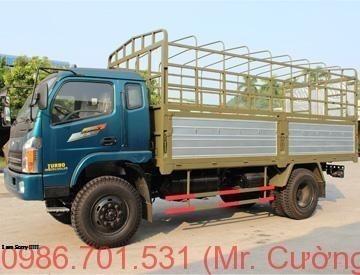 Xe tải chiến thắng 6.5 tấn thùng bạt (CT6.50TL1/4X4)