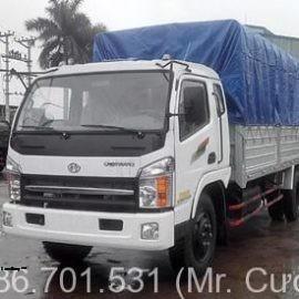 Xe tải chiến thắng 6.7 tấn thùng bạt (CT6.70TL1)