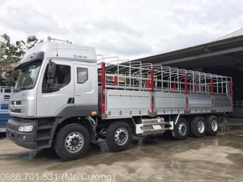 xe tải chenglong 5 chân 22.4 tấn