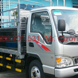 xe tải jac 1.4 tấn tặng 100% phía trước bạ