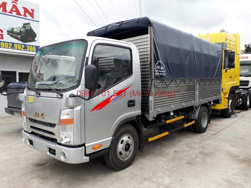xe tải jac 1.99 tấn động cơ isuzu