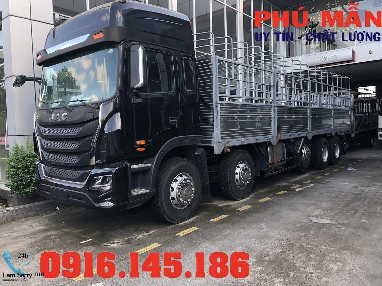 Xe tải jac 5 chân 22 tấn