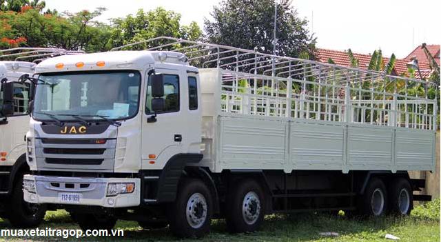 Xe tải jac 4 chân 17.9 tấn