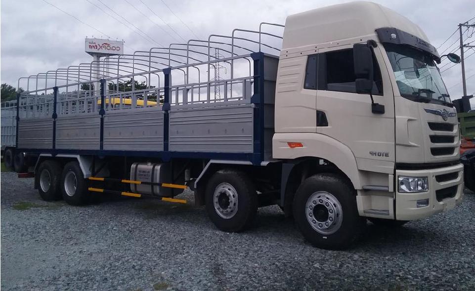 xe tải Faw 4 chân 17.9 tấn