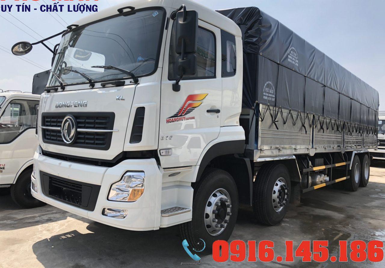 Xe tải dongfeng 4 chân 17.9 tấn